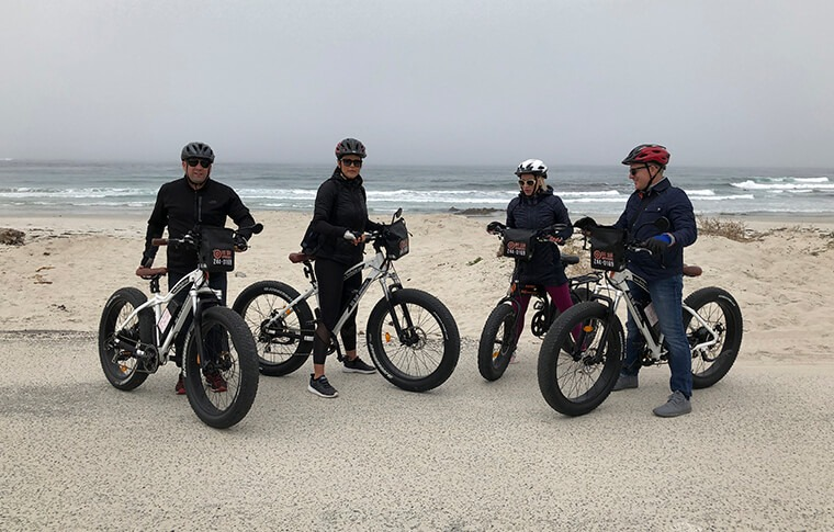 Big Sur E-Bike Tour Group
