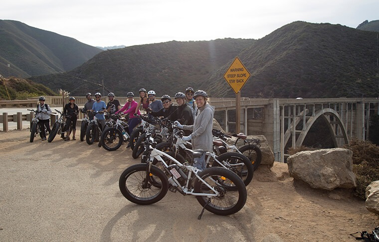 E-Bike Tour Bixby Bridge