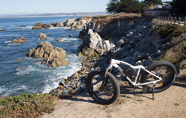 E-Bike in Pacific Grove